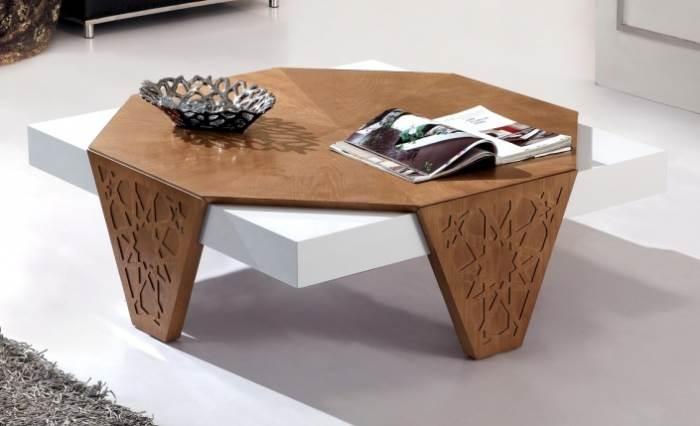 שולחן סלון בעיצוב מודרני - היבואנים