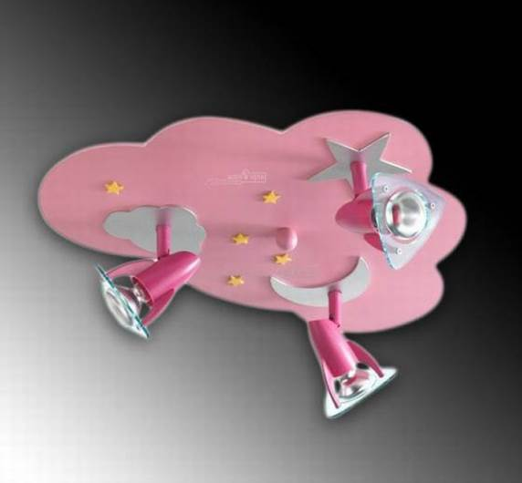 גוף תאורה מעוצב לילדים - חברת שקע ותקע. צילום: יח