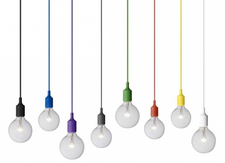 צבעוניות ושובבות - מנורות מעוצבות של חברת muuta. צילום: יחצ. להשיג ביאיר דורם תאורה