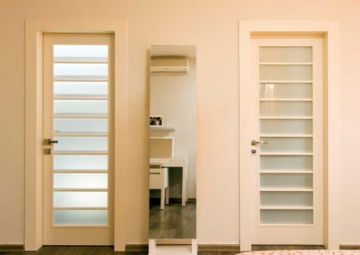 דלתות פנים יכולות להוסיף לבית הרבה אווירה - דלתות פנים של חברת פנדור. צילום: נדב פקט