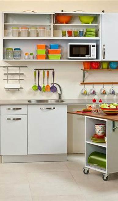 קטן עליכם : מדריך לעיצוב מטבח קטן