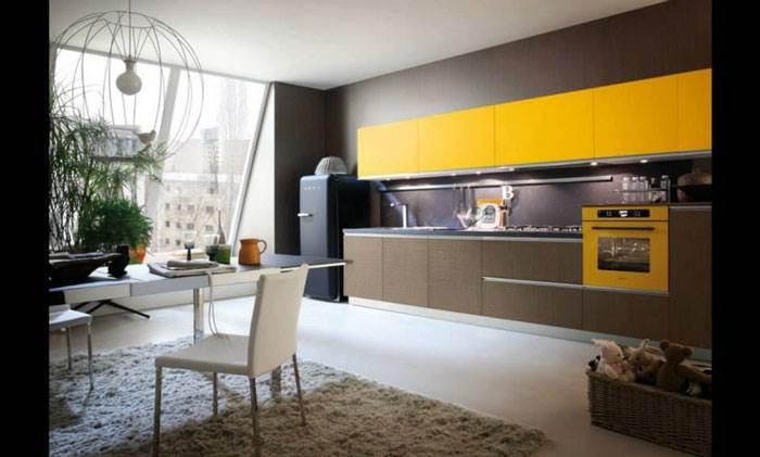צבעים מדליקים שישתלבו היטב עם הקו העיצובי של המטבח