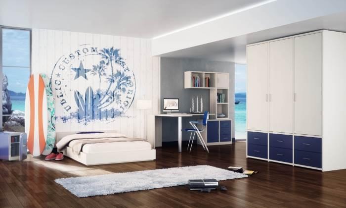 חשוב לקחת בחשבון גם את העיצוב הכולל של החדר כשבוחרים עיצוב פינת עבודה לילד - עיצוב פנים של ניצן הורוביץ
