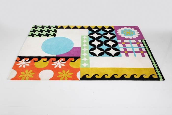 דוגמאות גיאומטריות וצבעוניות יכולות להיות הדבר הבא בחדר השינה שלכם - קארה דיזיין