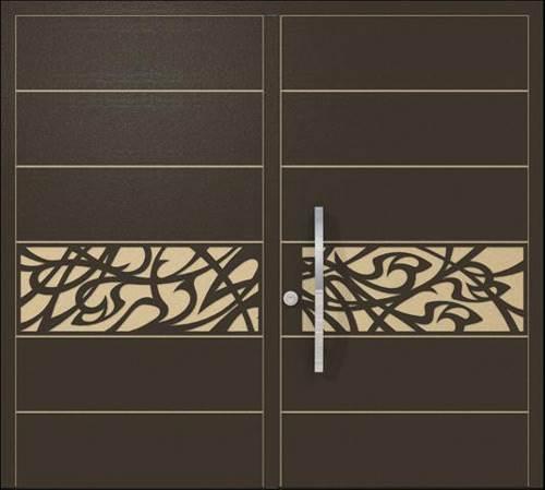 לפתוח את הבית עם דלת מעוצבת - דלת שניה מסדרת רבולושיין של חברת רשפים ב-30% הנחה