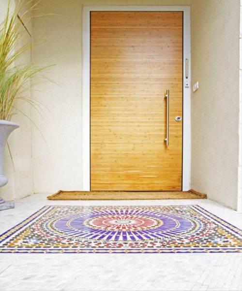 15% הנחה על דלתות הכניסה של רשפים. דלת של רשפים. אדריכלית: מירב בן ארי