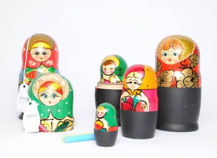 בבושקות מלח פלפל בעיצוב יבגניה סוקולוסקי