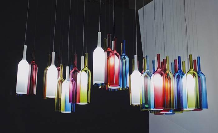קולקציית גופי תאורה תלויים בעיצובו של אריק לוי לחברת LASVIT הצ