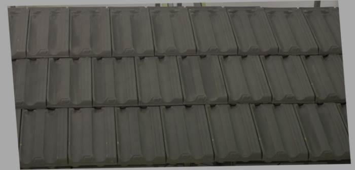 מוצרים איכותיים ובטוחים יותר: רעף מסוג מרסילייז אפור מדיום של קוניאל. צילום: יח