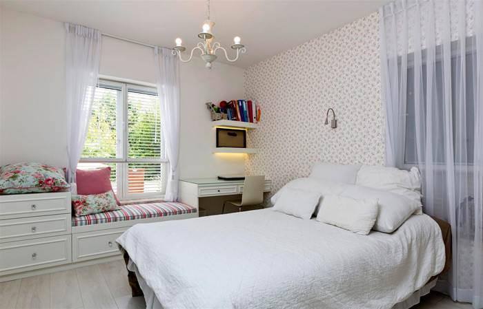 חדר השינה של הבת בסגנון וינטאג