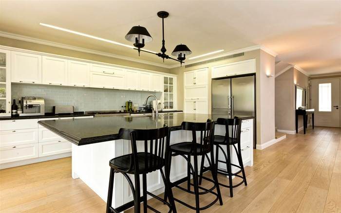 המטבח המעוצב- אחת מהנקודות המרכזיות של הבית