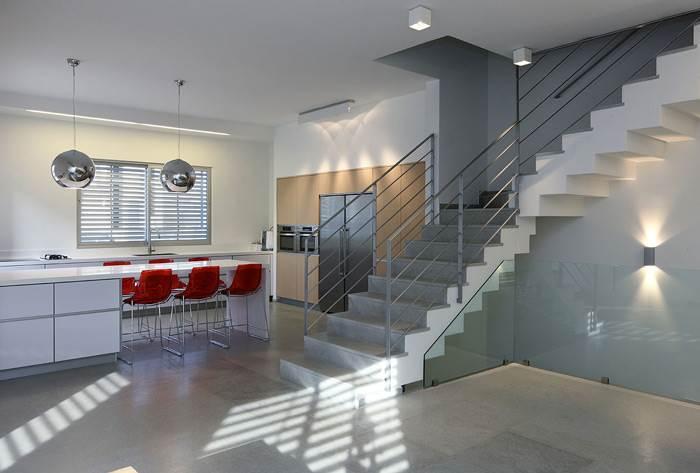 שילוב של צבע ותכנון נכון של חלל- בית פרטי בשוהם</br>