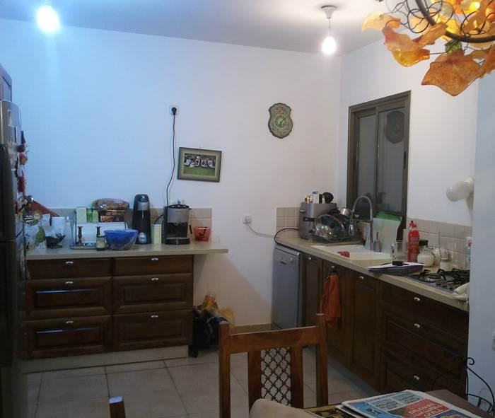 המטבח- לפני
