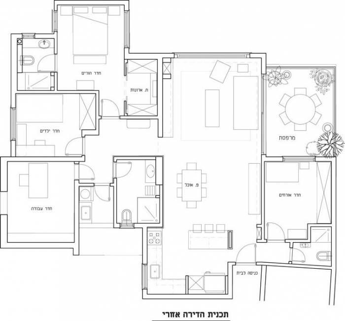 תוכנית הדירה- אחרי