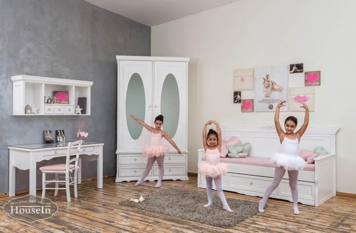 להעדיף חומרים טבעיים וידידותיים: חדר ילדים של האוס אין. צילום: יח