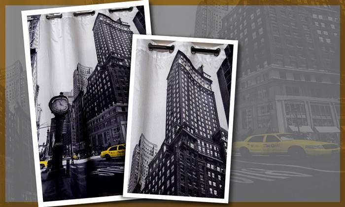 וילון רינג ערים_של חברת blinds-us. צילום: blinds-us-studio