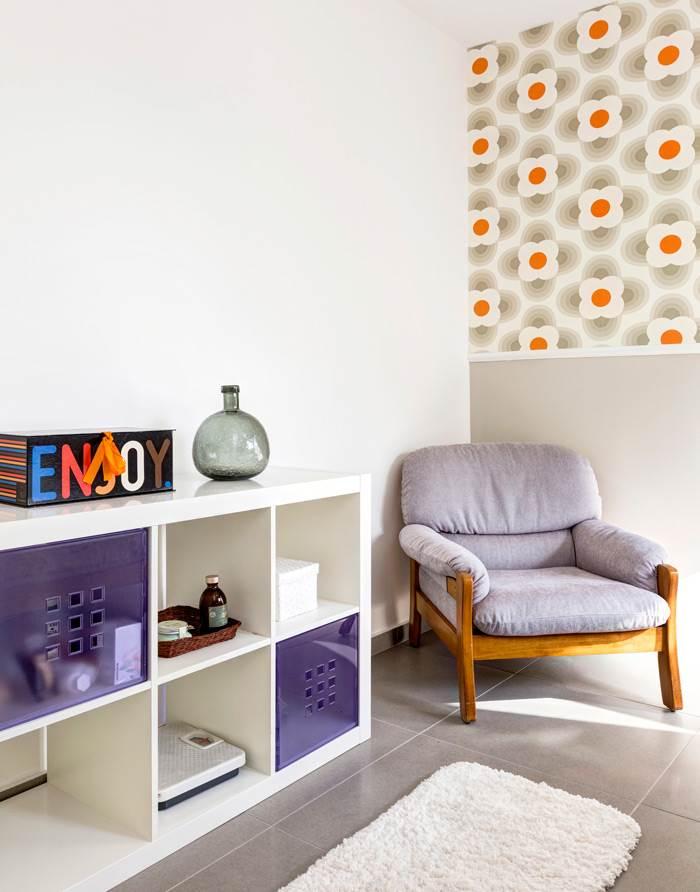 דירה משפחתית מעוצבת באווירת רטרו שיק