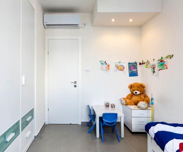 חדר הילדים עוצב בחינניות