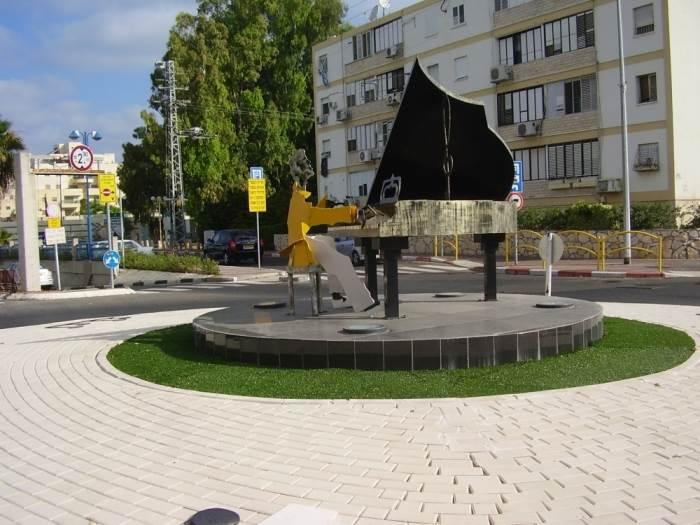 כיכר הפסנתר בקריית מוצקין