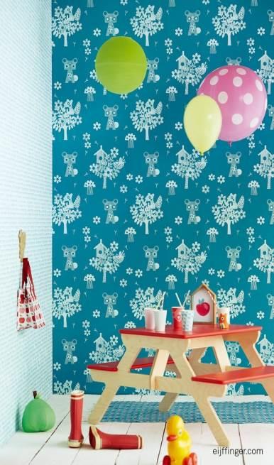 קירות קסומים: טפטים לחדרי ילדים