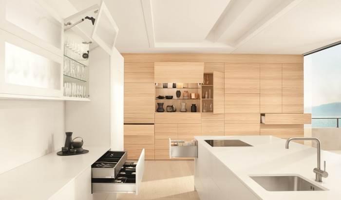 מגוון אפשרויות לשילוב בין מוצרים לטכנולוגיות: מעצבים מטבח נטול ידיות