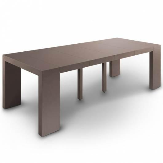 שולחן קונסולה נפתח שיכול להתאים לעד 12 סועדים, דגם Nassau XL, מבית Menzzo