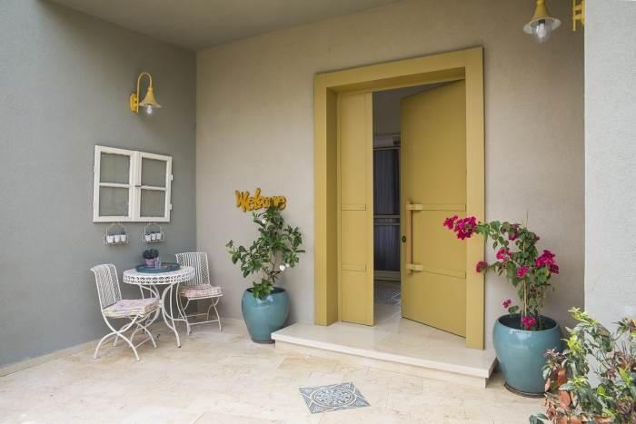 הדלתות אחראיות בין היתר על יצירת הרושם הראשוני ועל מראה הבית מבחוץ. צילום: יחצ.