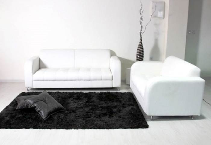 מערכת ישיבה הכוללת ספה דו ותלת מושבית בעיצוב צעיר. </br>ניתן לעצב גם מבלי לקרוע את הכיס </br>צילום: יח