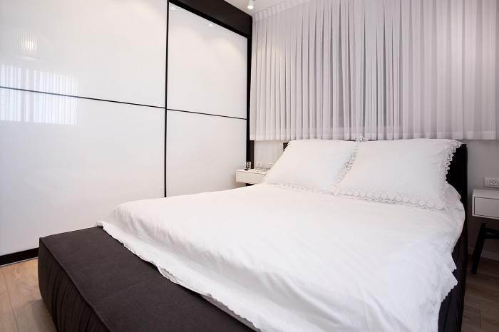 אינטימיות ורכות בחדר השינה | צילום: גידי בועז