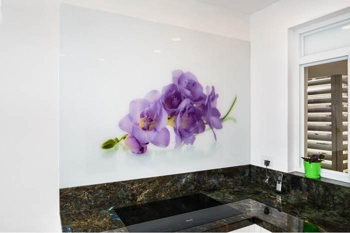 עיטור קיר במטבח</br>צילום:LitghMill Studio