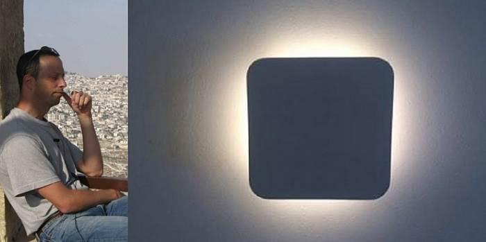 """אראל- מנכ""""ל אתר הדירה, מחפש תמיד חידושים בתחום התאורה. (צילום: יחצ I.M.D LIGHTING)"""