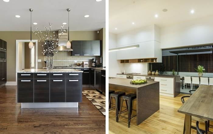 גופי תאורה מעוצבים למטבח מבית טכנולייט |</br>צילום: יח