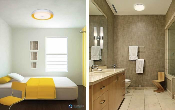 תאורה נכונה ומעוצבת לחדרי שינה | צילום: יח