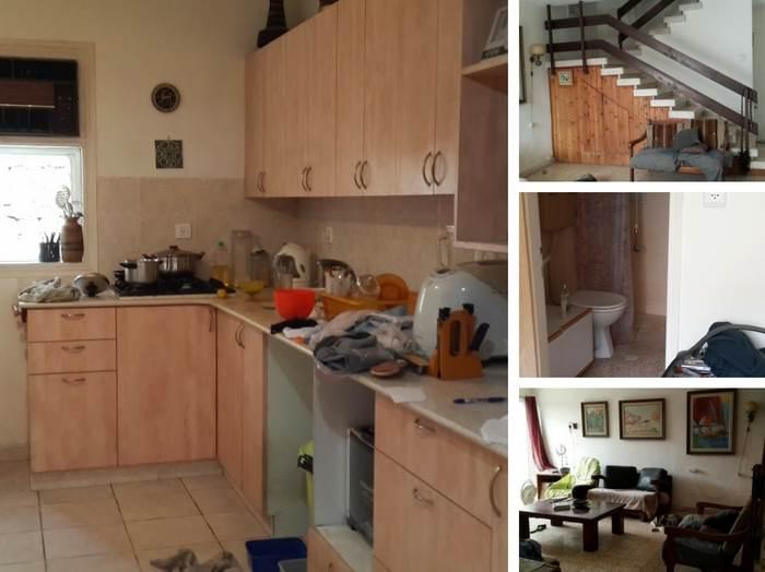 עיצוב בית בצפון תל אביב- מבט לפני השיפוץ.