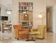 עיצוב דירת יוקרה בגבעתיים - עיצוב בזהב, לבן וקרם