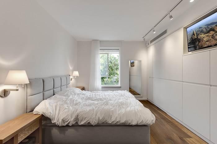 עיצוב חדר שינה. צילום: עודד סמדר