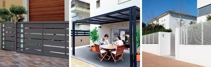 מגוון פתרונות בתחום עיצוב ה- Out Door |<br/>צילום: יחצ טרלידור