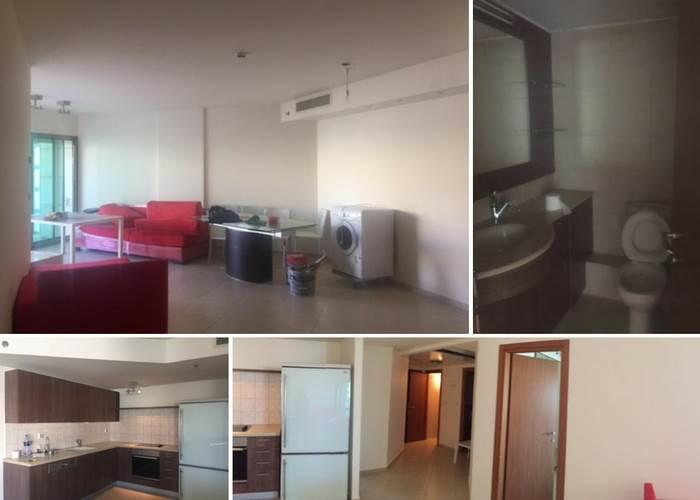 הדירה במרינה לפני השיפוץ