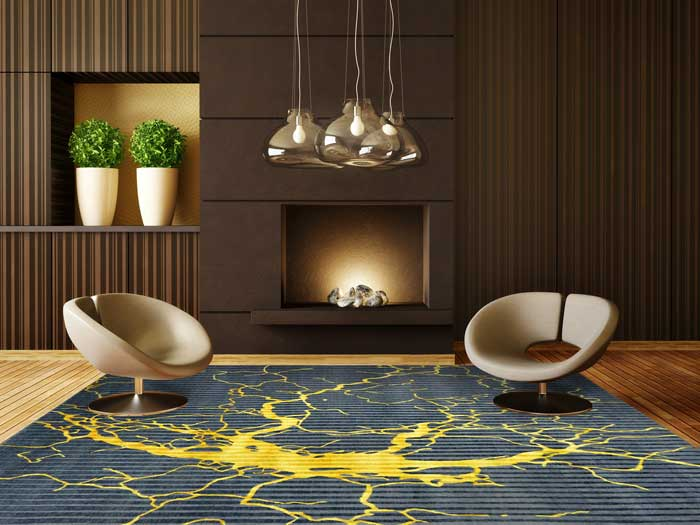 תחום הקמינים בהחלט אינו קופא על שמריו ופרט לעיצובים חדשים ומרהיבים, קיימים חידושים טכנולוגים שהופכים את חימום הבית לפרקטי וטוב אף יותר מבעבר | צילום: צמר שטיחים יפים