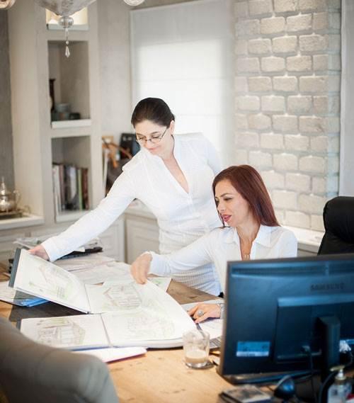 שירלי דן, בעלת המשרד דן אדריכלים.