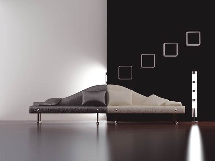 צבעים בהירים לחדרים חשוכים או צבעים כהים לחדרים מוארים