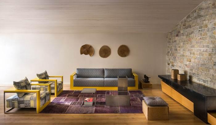 עיצובים לסלון: גיאומטריה בסטייל | עיצוב: יפרח בן צבי | צילום: שי אפשטיין