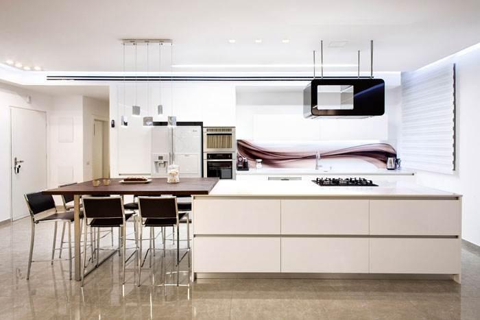 מבט אל המטבח |עיצוב פנים: עינבל דניאל | צילום: תמוז רחמן