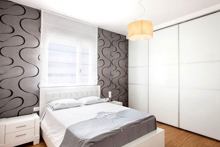 חדר ההורים המעוצב | עיצוב פנים: עינבל דניאל | צילום: תמוז רחמן