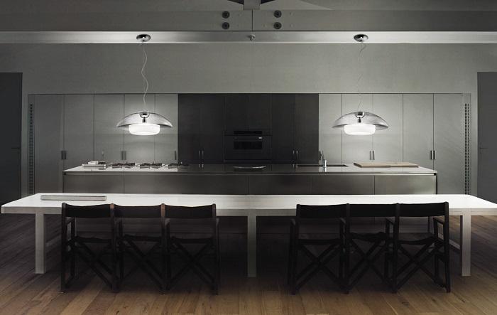 מקור האור כחלק מהעיצוב ובמקום להסתיר אותו - מבליטים אותו
