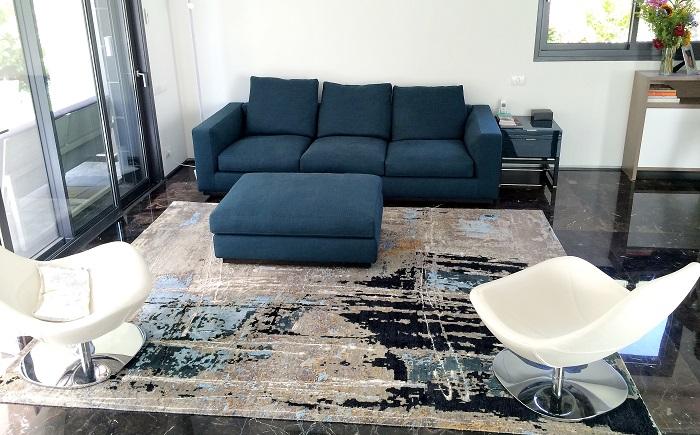 הסגנון האבסטרקטי - שטיחים הנראים כמו יצירת אמנות מודרנית