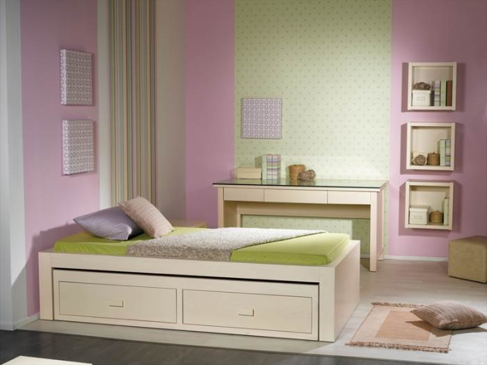 בעת צביעת חדרי ילדים מומלץ להשתמש בצבעים רחיצים, חדר ילדים מבית ברזילי