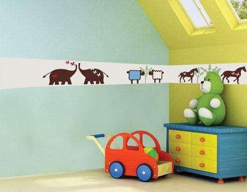קל לשדרג או לעצב חדר תינוקות בעזרת אביזרים משלימים ומעוצבים. בורדר לקיר של חברת