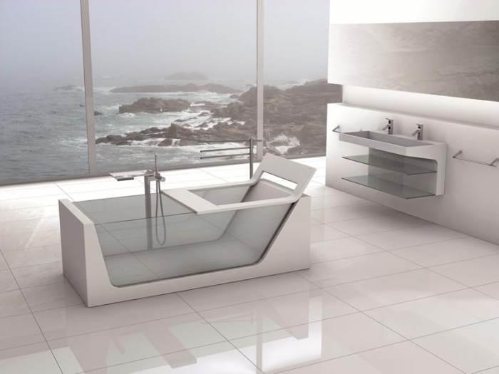 מגוון האפשרויות לעיצוב אמבטיה הוא כמעט אינסופי, אך אל תקבלו החלטות אימפולסיביות. אמבטיה מעוצבת של HEZIBANK?(צילום: יח
