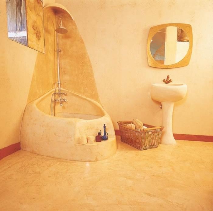 אולי עיצוב חדרי אמבטיה בסגנון כזה?! הצעה לעיצוב של נירלט (צילום: יח